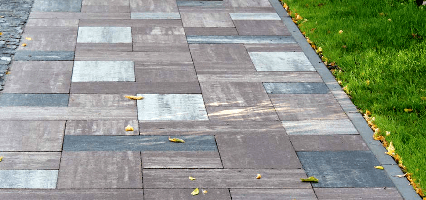 тротуарная плитка серии Лайнстоун