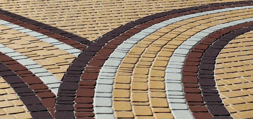 тротуарная плитка с фаской серии Старый город